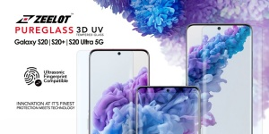 Dán màn hình Galaxy S20 Ultra - Kính cường lực keo UV Zeelot